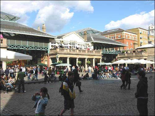 Londres, visitando Covent Garden