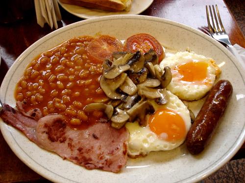 Gastronomía tradicional inglesa, lo mas típico