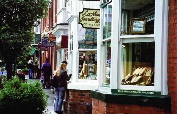 Birmingham, las Joyerias Quarter