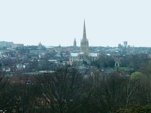 Vista de Norwich