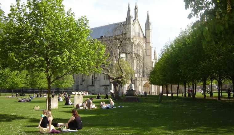 Winchester y su Catedral