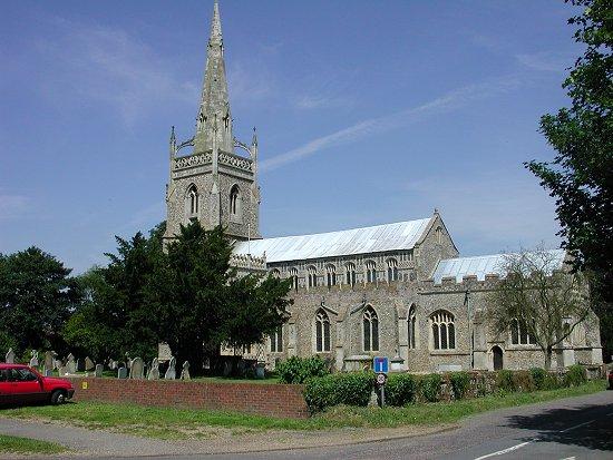 La Iglesia de Santa Mará en Woolpit