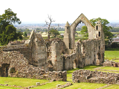 Abadía de Haughmond, ruinas en Shrewsbury