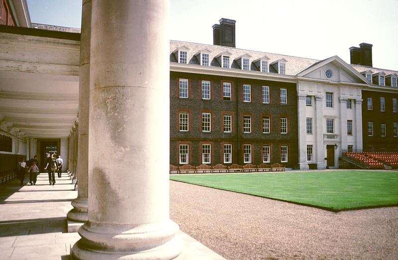 Patio del Royal Hospital de Chelsea