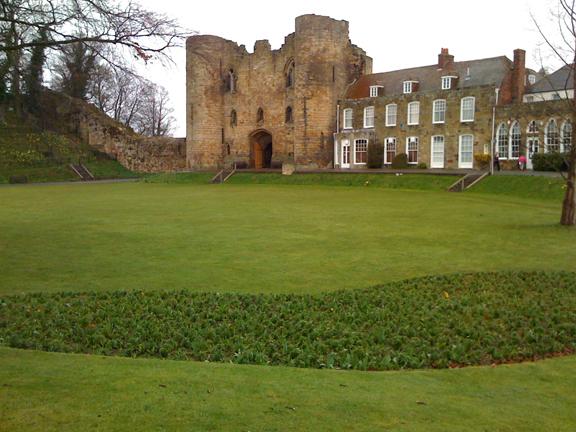 Castillo de Tonbridge, un día relajado en familia
