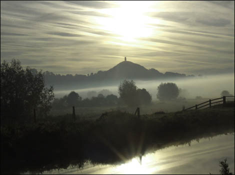 Vista de Glastonbury Tor