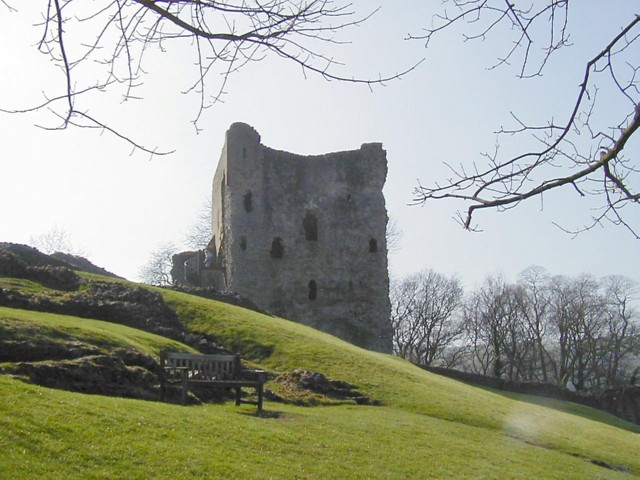Castillo de Peveril, la cima hermosa de Derbyshire