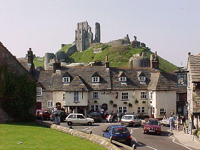 Corfe y su castillo