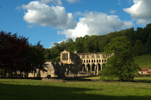 Rielvaux, la hermosura del norte de Inglaterra