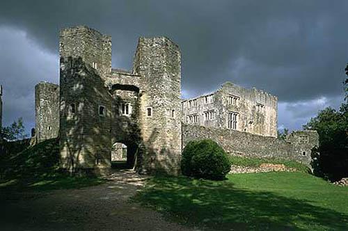 Castillo Berry Pomeroy, fantasmas en Devon