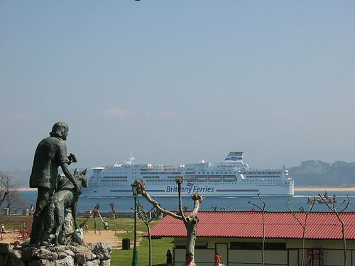 Ferry hacia Plymouth