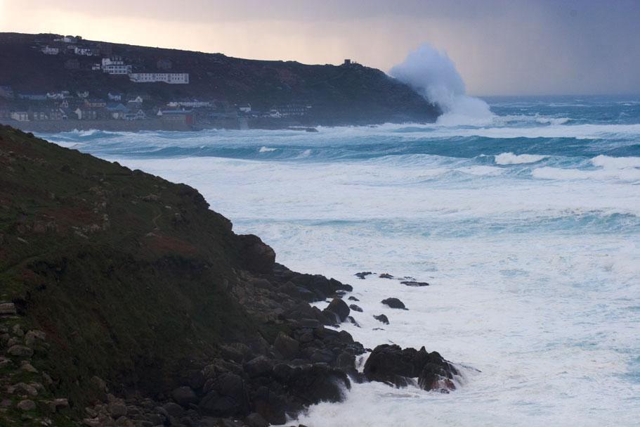 Sennen y la costa de Cornualles