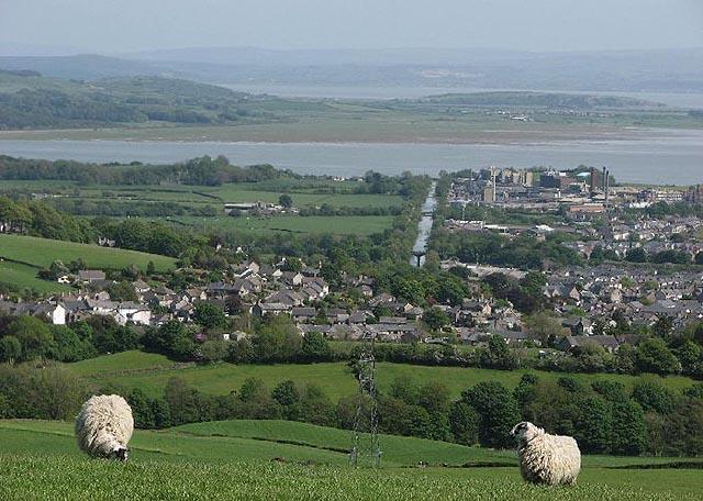 Ulverston, el hermoso paisaje de Cumbria