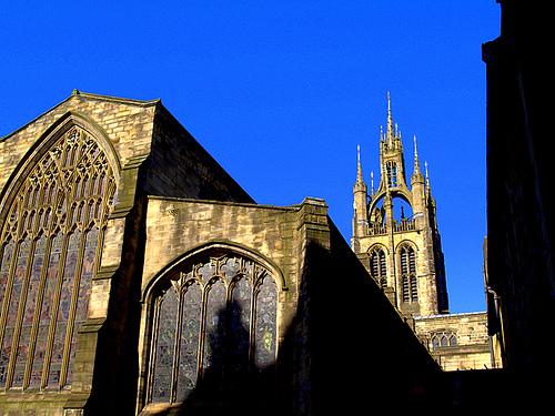 La Catedral de San Nicolás en Newcastle