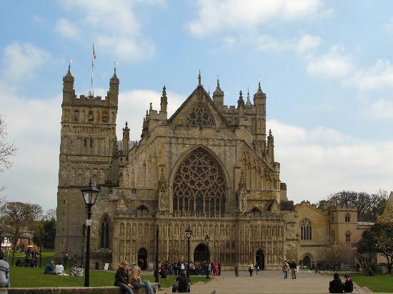 Exeter, la belleza patrimonial de Devon