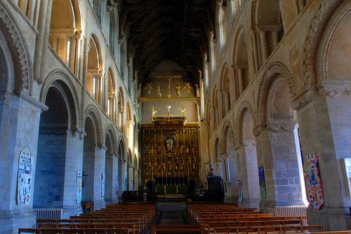 Interior de la abad�a