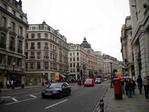 Nueva cara para Regent Street