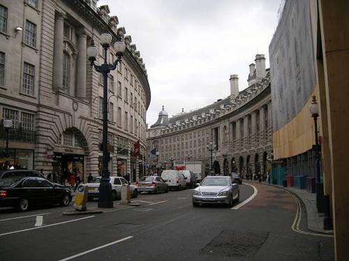 Calle Regent en Londres