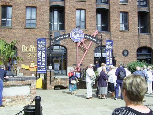 El Liverpool de los Beatles, una visita mágica