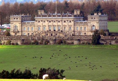 La residencia Harewood, en Yorkshire