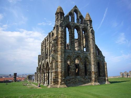 Las ruinas de la Abadía de Whitby