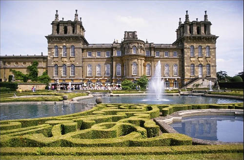 Blenheim Palace, donde nació Sir Winston Churchill