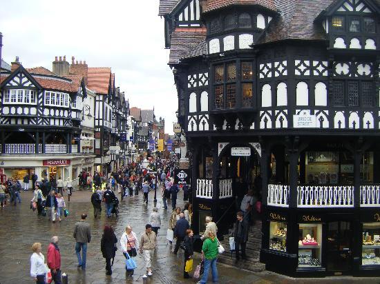 La arquitectura victoriana de Chester