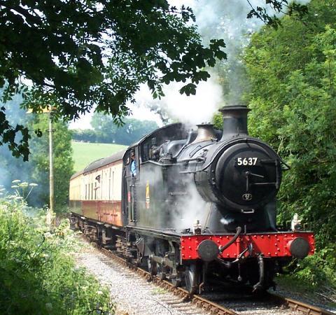 East Somerset Railway, un viaje en tren al pasado