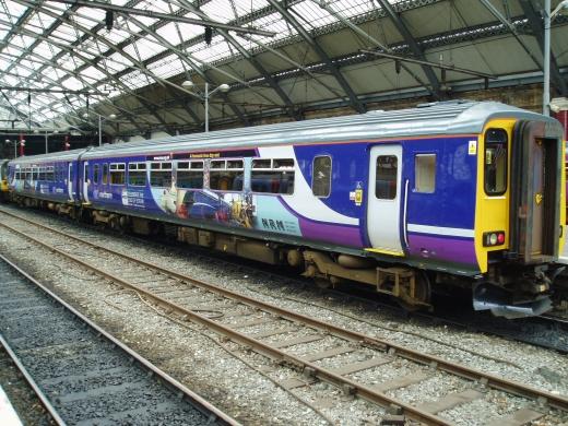 Trenes en Inglaterra