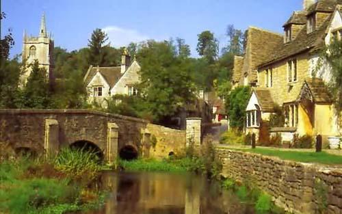 Castle Combe, el pueblo mas hermoso de Inglaterra