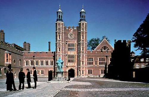 Eton College, un exclusivo colegio ingles