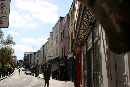 El colorido de Notting Hill
