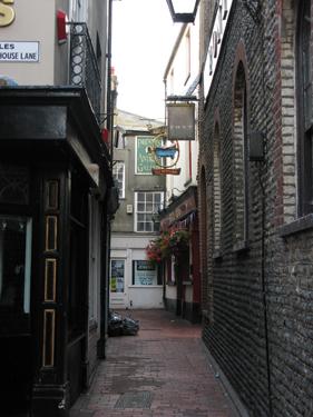 The Lanes, calles comerciales de Brighton