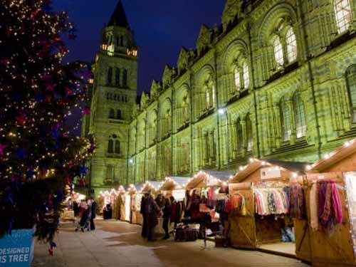 Mercadillo de Navidad en Londres