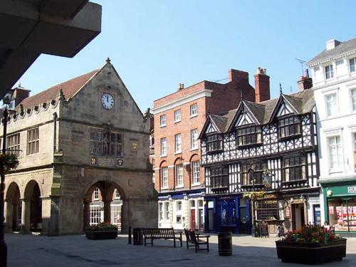 Shrewsbury, la medieval ciudad de Darwin