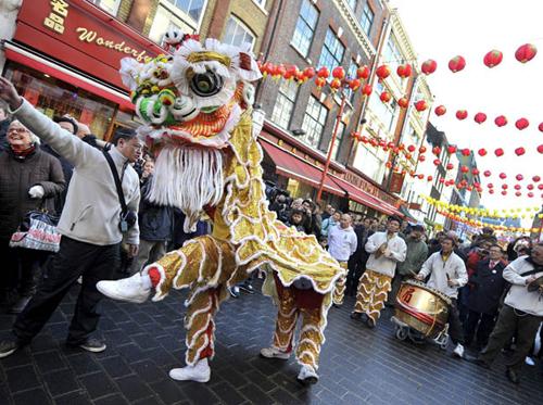 Año Nuevo chino en Inglaterra