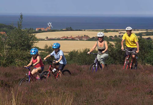 Ciclismo turístico en el este de Inglaterra