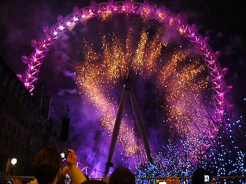 Celebra Fin de Año 2009 en Londres