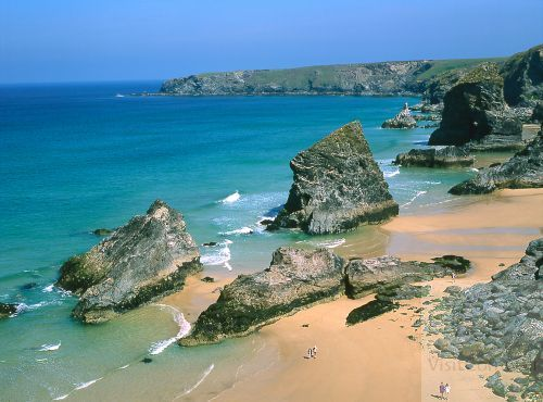 Playa de Bedruthan Steps