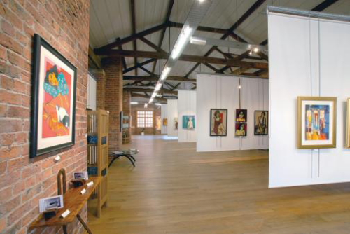 The Biscuit Factory, una galeria de arte