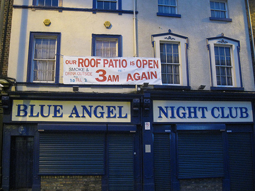 Blue Angel Night Club