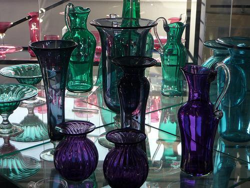 El vidrio azul de Bristol, el mejor souvenir