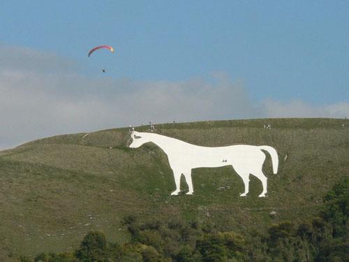 Caballo blanco de Westbury