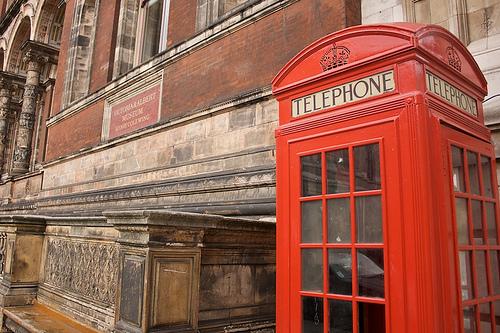 Cabina telefonica inglesa