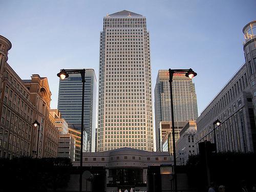 Canary Wharf, la torre mas alta de Londres