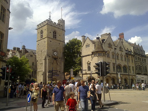 Carfax Tower, el centro de Oxford