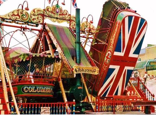 Carters Steam Fair, nostalgia y diversión en Bristol