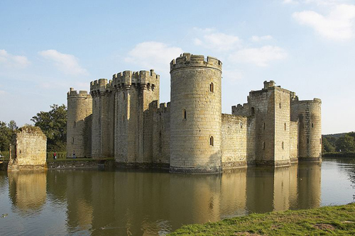 El Castillo Bodiam, en Sussex