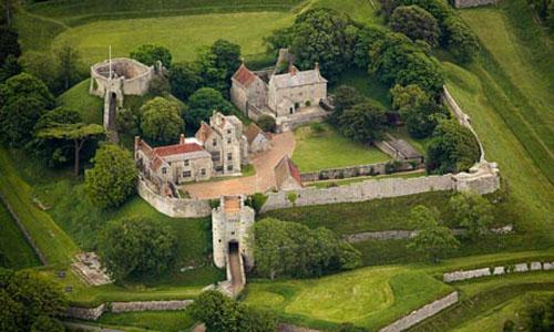 El histórico Castillo Carisbrooke