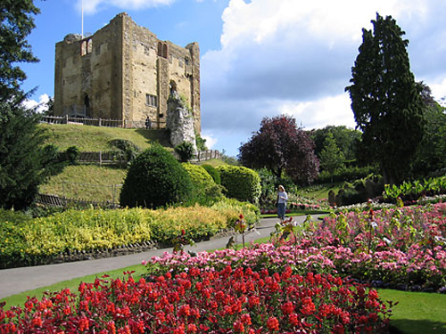 El hermoso Castillo de Guildford